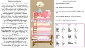 Hebrew Worksheets Esl Princess And The Pea Worksheet Hebrew Tpt
