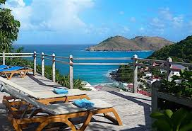 Map Of St Barts by Flamands Blue St Barts Villa Rental Wheretostay