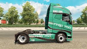 2014 volvo truck king skin for volvo truck for euro truck simulator 2
