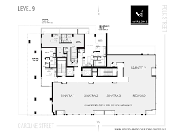 typical hotel floor plan marlowe downtown houston stylized living