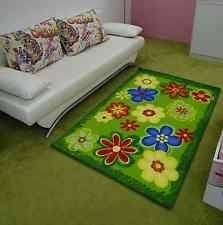jugendzimmer teppich kinderteppiche für jungen mädchen mit blumenmuster ebay