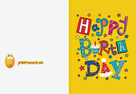 happy birthday cards free print out happy birthday cards paso evolist co