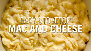 easy stovetop macaroni and cheese youtube