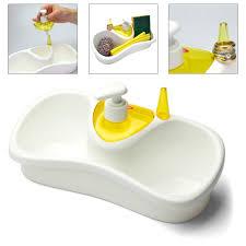 Kitchen Sink Caddy by Peter U0027s Of Kensington Snips Sponge Holder With Soap Dispenser