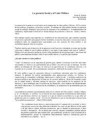 a oport de si e social la gerencia social y el valor público by claugomez15 issuu