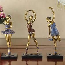find more resin crafts information about 3pcs dancer model