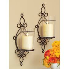 Pier One Wall Sconces Better Homes And Gardens Ironwork Loop Wall Sconces 2pk Candle