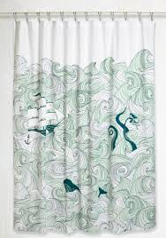Shower Curtain Swell Acquainted Shower Curtain Modcloth