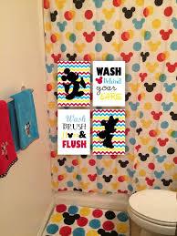 chic design disney bathroom sets bath accessories mickey mouse