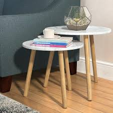 3 piece nesting tables zipcode design chantay 2 piece nesting tables reviews wayfair