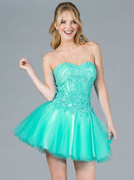 mint sequin and mesh short prom dress sung boutique l a