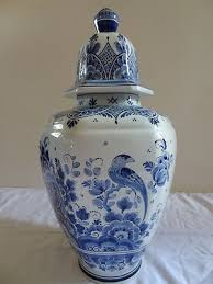 what are ginger jars vintage royal delft handpainted ginger jar 1950 by euroluxantiques