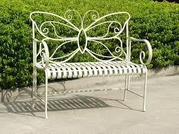 garden benches inmyinterior metal garden bench treenovation