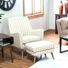 Living Room Chair With Ottoman Accent Chair And Ottoman Set Wood Leather Chair Ottomans 2