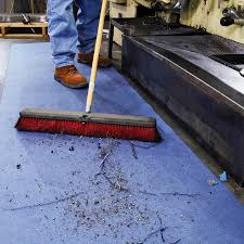 Concrete Floor Sweeping Compound by Floor Safety Solutions For Dusts U0026 Powders Expert Advice