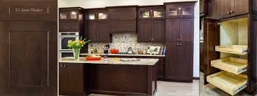 j u0026k shaker door style java color kitchen u0026 bath cabinets