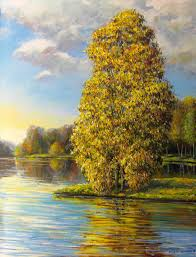 landscape painting artists maxim grunin drawing painting landscape paintings 2010