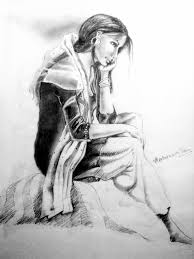 how to do pencil sketch how should do pencil shading sad drawing of pencil