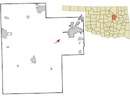 Oklahoma Zip Code Map Kellyville Oklahoma Wikipedia