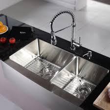 farmhouse faucet kitchen kraus kitchen combos 36 x 21 basin farmhouse apron