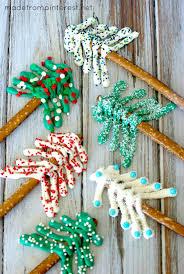 pretzel christmas trees tgif this grandma is fun