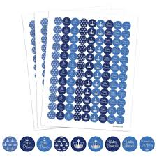 prince baby shower blue and silver prince baby shower stickers set of 324