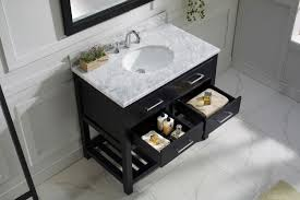 Virtu Bathroom Accessories by Virtu Usa Caroline Estate 36 Single Bathroom Vanity Set In