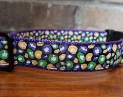 mardi gras collar etsy leopard print collar etsy au