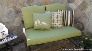 Diy Patio Cushions Sew Easy Outdoor Cushion Covers Part 2 Confessions Of A Serial