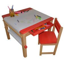 table et chaise pour b b ensemble table et 1 chaise pour enfant en bois coloris achat