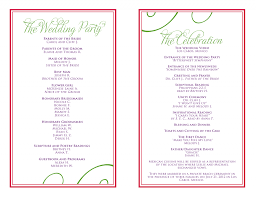 wedding anniversary program wedding ideas staggering weddingrty program exles template