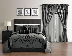 cal king bedding callie 7piece full comforter set in grey 7piece faux silk comforter set back floral cal king bedding