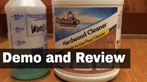 Laminate Floor Cleaning Products Sheiner U0027s Hardwood Floor Cleaner For Wood And Laminate Demo And