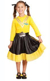 wiggles kids book week costume u0027s emma yellow wiggle costume