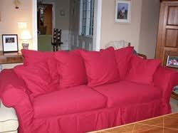 Red Sofa Slipcovers Pottery Barn Charleston Sofa Slipcover Replacement Slip Cover For
