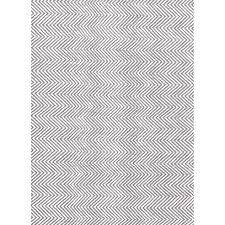 Floor Rugs by Herringbone Chevron Scandinavian Floor Rug Grey