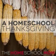 a homeschool thanksgiving part 1