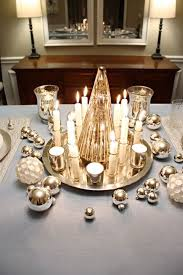Christmas Table Decoration Ideas Silver by 86 Best Christmas Table Decorations Ideas Images On Pinterest