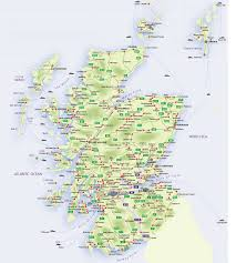 Map Of England And Scotland by Roadmap Of Scotland U2013 Scotland Info Guide