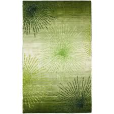 Green Modern Rug Safavieh Soho Brown Multi Wool 6 Ft X 9 Ft Area Rug Soh712b 6