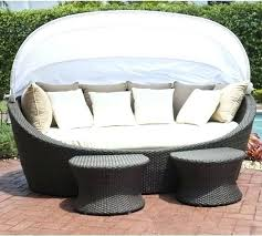 Outdoor Wicker Daybed Rattan Outdoor Daybed Boutique Quest Circular Outdoor Wicker