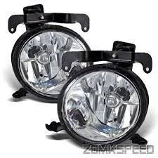 hyundai accent lights fits 03 06 hyundai accent jdm clear fog lights bumper driving