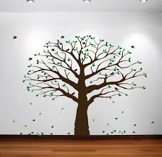 Nursery Tree Stickers For Walls Family Tree Wall Decal