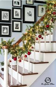 christmas decorations for home decorating the stairs for christmas 4 love the holidays