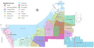 Map Of Michigan Cities by City Of Muskegon Neighborhoods