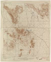 University Of Arizona Map Arizona Historical Topographic Maps Perry Castañeda Map