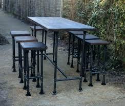 metal bar table set outdoor metal bar table a outdoor metal bar table set myforeverhea com