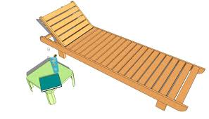 double chaise lounge plans myoutdoorplans free woodworking