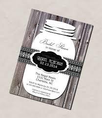 Mason Jar Bridal Shower Invitations Photo Birthday Party Dresses Splendid Image