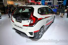 motor honda indonesia honda jazz modulo rear three quarters right at the indonesia